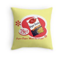 Sugar Bombs Throw Pillow
