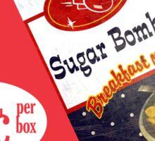 Sugar Bombs Sticker