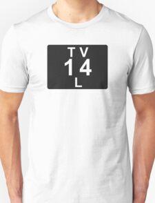 TV 14 L (United States) black T-Shirt
