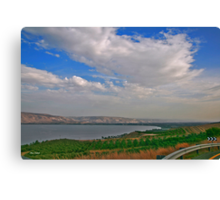In the way... Around the Kineret Canvas Print