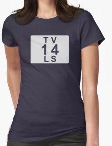 TV 14 LS (United States) white T-Shirt