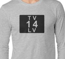 TV 14 LV (United States) black Long Sleeve T-Shirt