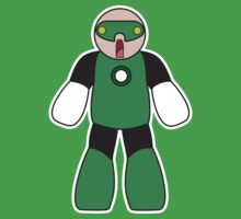 Little Big Green lantern by Sam Weeks