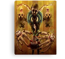 Alice and the Doll Maker Canvas Print