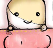 Marshmallow Pocket Bunny Sticker