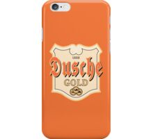 Dusche Gold iPhone Case/Skin