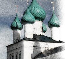 Russian church by mrivserg