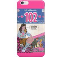 102 by Matty Healy Comic iPhone Case/Skin