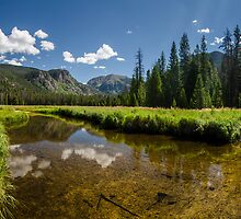 East Inlet Creek - Rocky Mountain National Park, Colorado by Jason Heritage