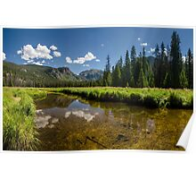 East Inlet Creek - Rocky Mountain National Park, Colorado Poster