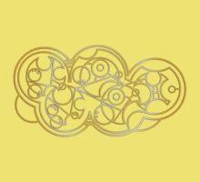 Wibbly Wobbly Timey Wimey - Circular Gallifreyan One Piece - Short Sleeve