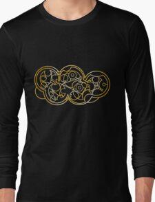 Wibbly Wobbly Timey Wimey - Circular Gallifreyan Long Sleeve T-Shirt