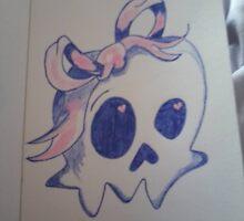 Skull N Bows by SapphireHeart