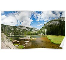 Lone Pine Lake - Rocky Mountain National Park, Colorado Poster