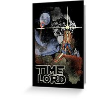 TIME LORD Episode IV Greeting Card