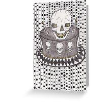 Happy Skullday 2 U Greeting Card