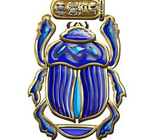 Sacred Egyptian Scarab  by Captain7