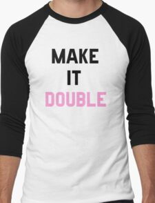 Double Trouble (2 of 2) Men's Baseball ¾ T-Shirt