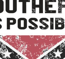 ASAP As Southern As Possible Sticker
