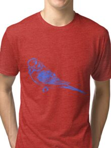 Blue Budgie Tri-blend T-Shirt