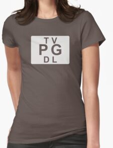 TV PG DL (United States) white T-Shirt