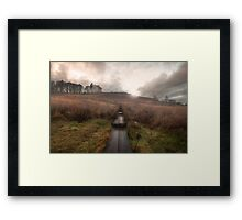 The Shire... || ... Is This Way. Framed Print