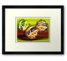 ©DA Fractal Dream IAT Framed Print