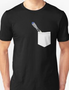 Pocketed 10th Doctor's Sonic Screwdriver T-Shirt