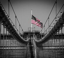 Sorrow at Brooklyn Bridge by marek365