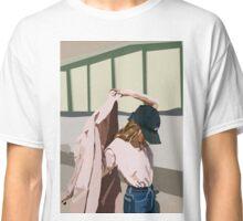 Pink Coat Classic T-Shirt