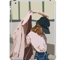 Pink Coat iPad Case/Skin