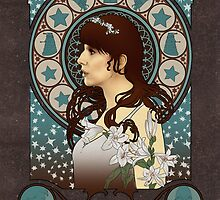 Donna Noble art nouveau , Doctor Who , TARDIS by koroa