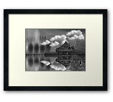 ©DA Concept Tree IAIII-B Monochromatic Framed Print