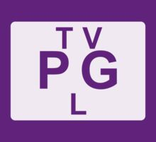 TV PG L (United States) white by bittercreek