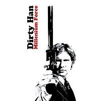 Dirty Han - Millenium Force Photographic Print
