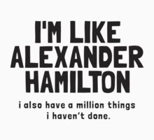 Like Hamilton by curvelloarruda
