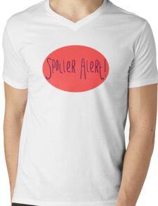 Spoiler Alert! Mens V-Neck T-Shirt