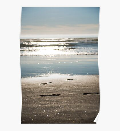 Footprints Vertical Poster