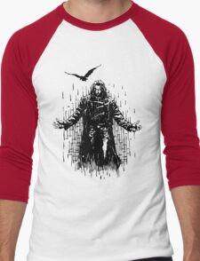Zombie man T-Shirts & Hoodies Men's Baseball ¾ T-Shirt