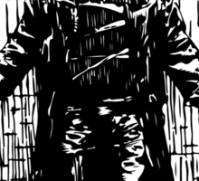 Zombie man T-Shirts & Hoodies Sticker