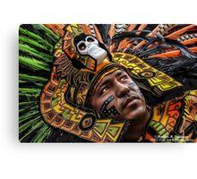 Azteca Warrior Canvas Print