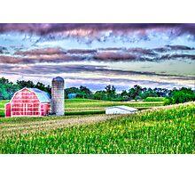 North of Marshall, Michigan in Calhoun, County Photographic Print