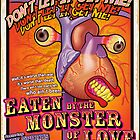 Eaten by The Monster of Love by billybot