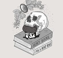 Heavy Books For A Heavy Heart by Kaleigh Jacobson