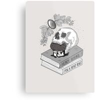 Heavy Books For A Heavy Heart Metal Print