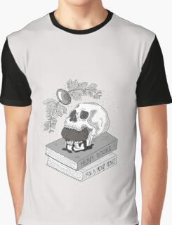 Heavy Books For A Heavy Heart Graphic T-Shirt