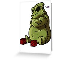 Oogie Boogie Greeting Card