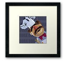 "Swedish Chef ""Bork Bork"" Framed Print"