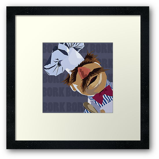 "Swedish Chef ""Bork Bork"" by ShoeboxMemories"