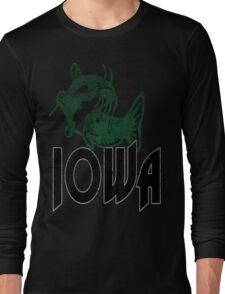 FISH IOWA VINTAGE LOGO Long Sleeve T-Shirt